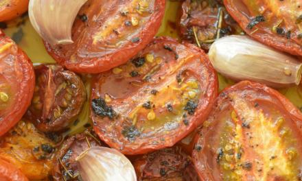Recept: Geroosterde tomaten