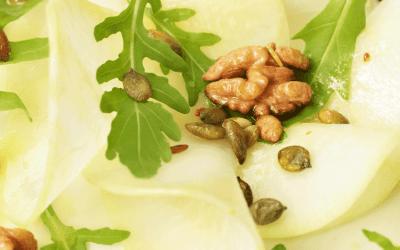 Recept: Salade van koolrabi