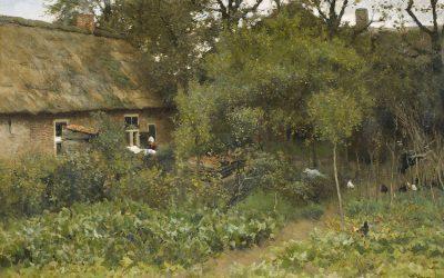 De kunst van tuinieren – ANTON MAUVE