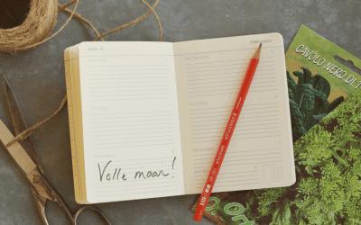 Stella's Wereld: Tuinieren bij maanlicht
