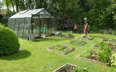 Tuinieren onder glas:  Meer plezier en mogelijkheden