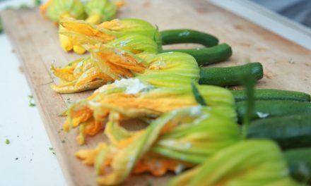 Recept gevulde courgettebloemen