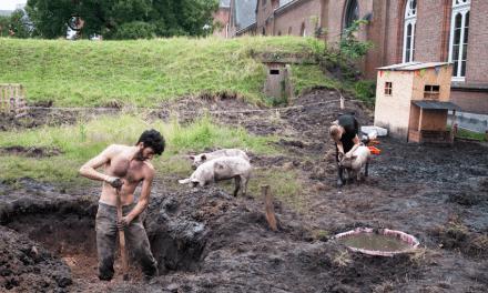 Het Spilvarken zet Gents afval om in voedsel