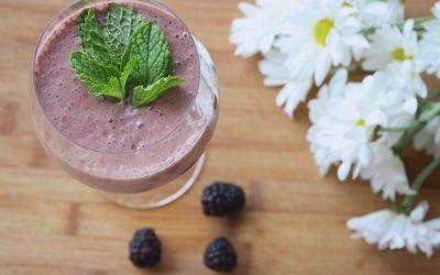Bosbessen-yoghurt-honing Smoothie