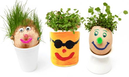 Kweken met de kids: Kiemhoofdjes