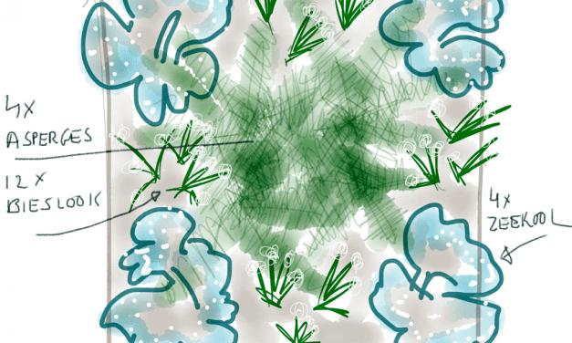 Moestuinplannen van Peter Bauwens: Tuin 2