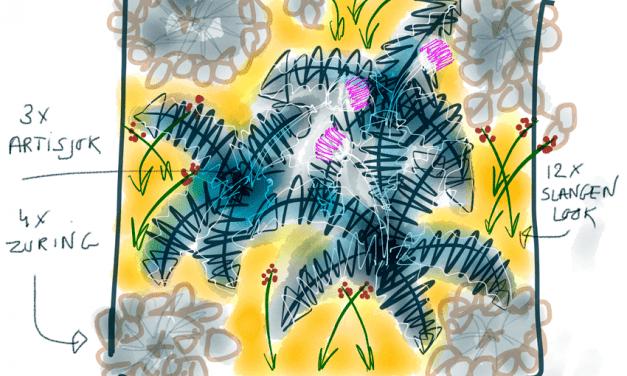 Moestuinplannen van Peter Bauwens: Tuin 3