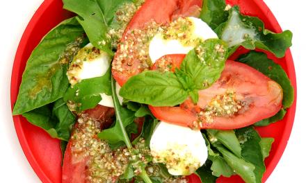 Recept: Insalata Caprese met rucola