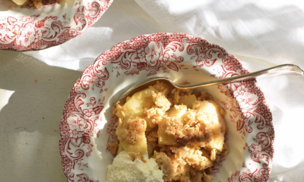 Recept: Apple crumble
