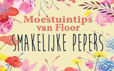 Moestuintips van Floor: Pepers kweken