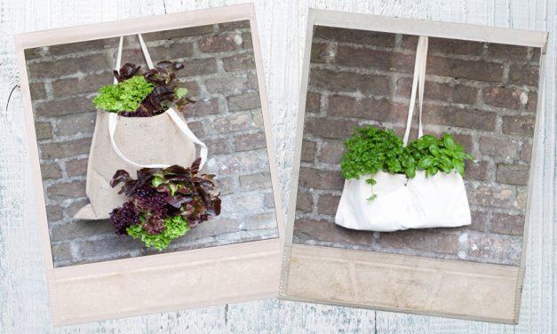 Doe het zelf: Tuinieren met tasjes