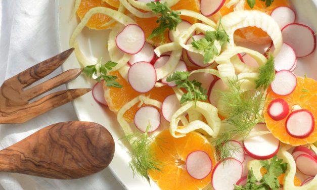 Recept: Salade met knolvenkel