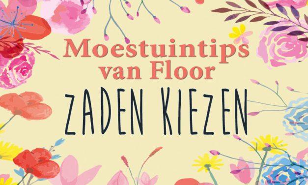 Moestuintips van Floor: Zaden kiezen