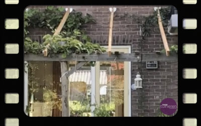 Pergola maken – Meer ruimte voor planten- Vlog